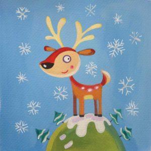 Mountain Top Reindeer