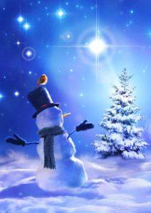 Star Bright Snowman