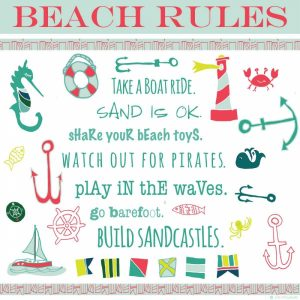 Beach Rules Ahoy