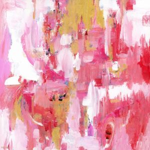 Abstract Dream Pink Gold