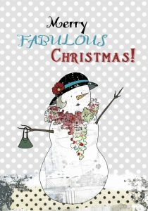 Fabulous Snow Lady