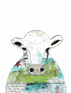 Collage Cow II