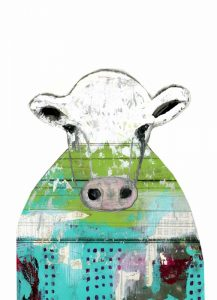 Collage Cow