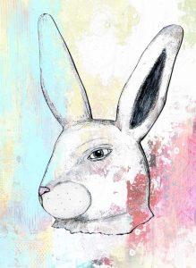 Rainbow Bunny II
