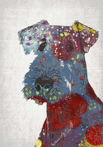 Abstract Dog II