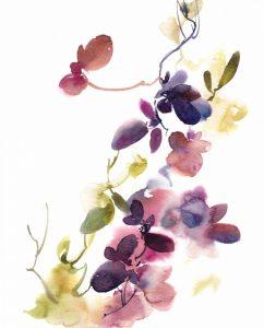 Purple Flower Majesty