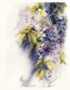 Purple Floral II
