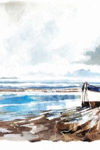Boat on Shore II