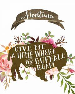 Montana Buffalo Home