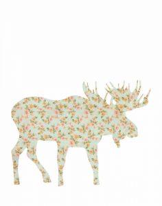 Floral Moose