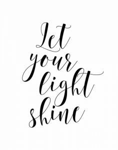 Let Your Light Sine
