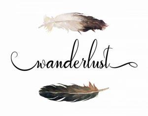 Wanderlust Feathers