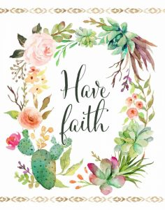 Have Faith Wreath