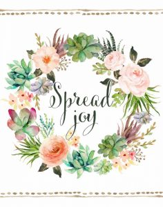 Spread Joy Wreath