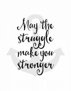 May the Struggle