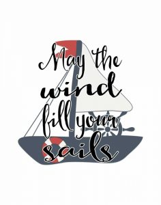 May the Wind Fill Your Sails