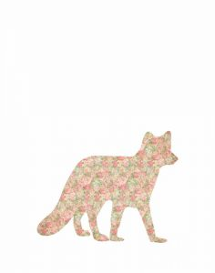 Shabby Chic Fox I