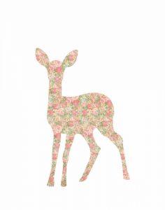 Shabby Chic Deer I