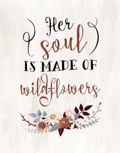 Wildflowers Quote