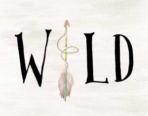 Wild Watercolor Arrow