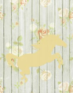 Pale Yellow Horse