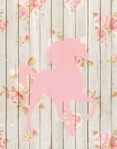 Pale Pink Horse