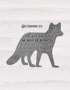 Deuteronomy 31-8