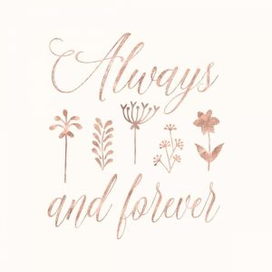 Always and Forever Floral