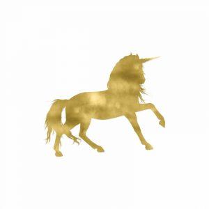 Gold Unicorn Square