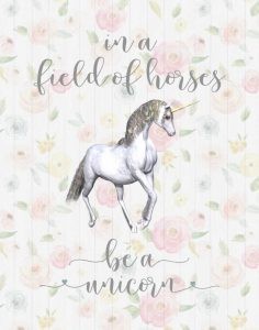 Be a Unicorn Floral