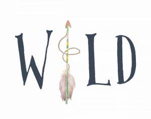 Navy and Pink Wild Arrow