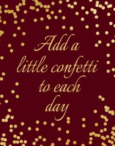 Add a Little Confetti II