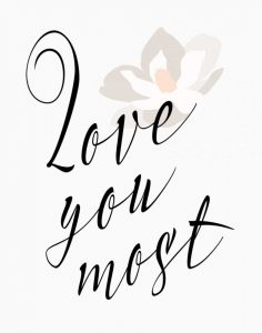 Love You Most – Flower
