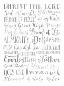 Silver Names of God