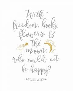 Oscar Wilde Freedom Quote
