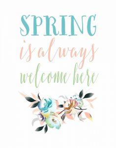 Spring is Always Welcome II