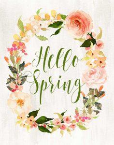 Hello Spring Wreath II