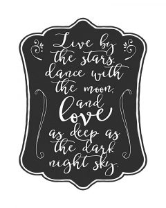 Live by the Stars