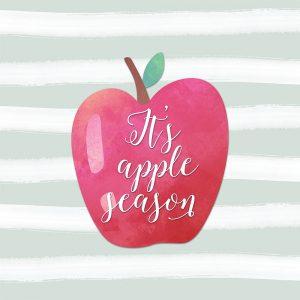 Its Apple Season