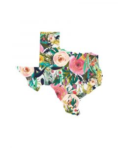 Texas Floral Collage II
