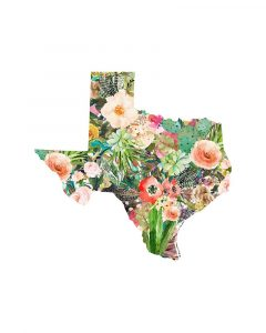 Texas Floral Collage III