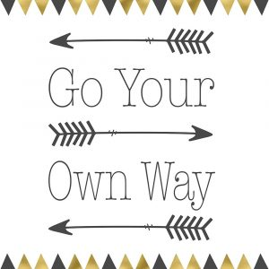 Go Your Own Way Square