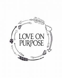 Love on Purpose Wreath