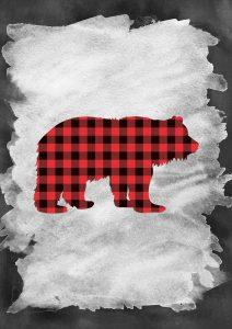 Plaid Bear