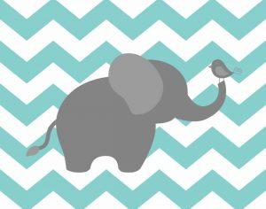 Elephant Chevron