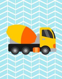 Construction Truck III