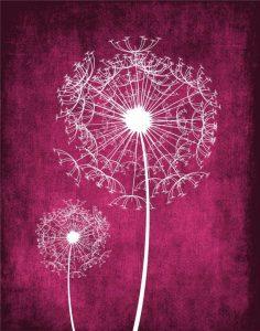 Grunge Dandelion