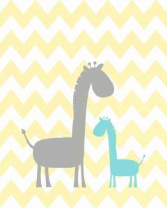 Chevron Giraffe