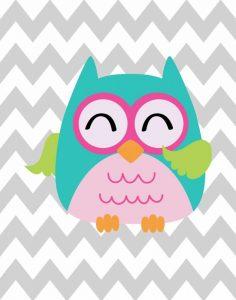 Owl Wash Brush Chevron