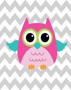 Owl Wash Brush Chevron II